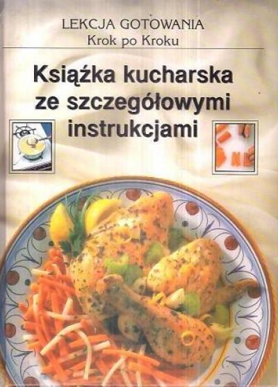 Lekcja Gotowania Krok Po Kroku Książka Kucharska Ze