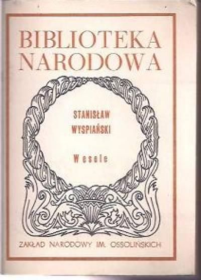 Wesele Bn Stanisław Wyspiański Książka