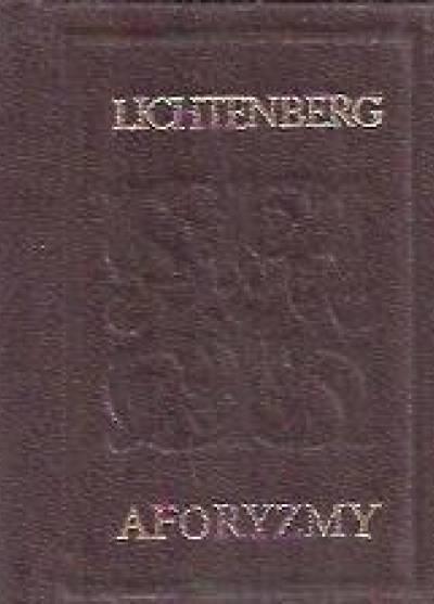 Aforyzmy Georg Christoph Lichtenberg Książka